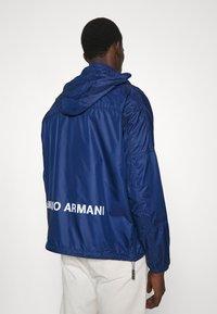Emporio Armani - BLOUSON JACKET - Summer jacket - blu navy - 3
