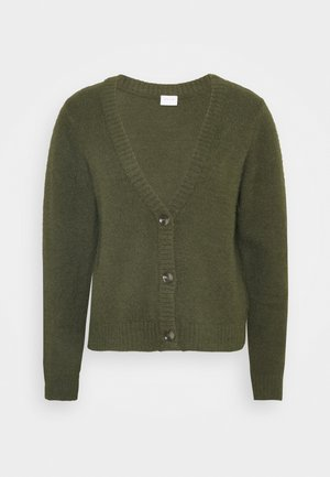 VIFEAMI CARDIGAN - Cardigan - forest night