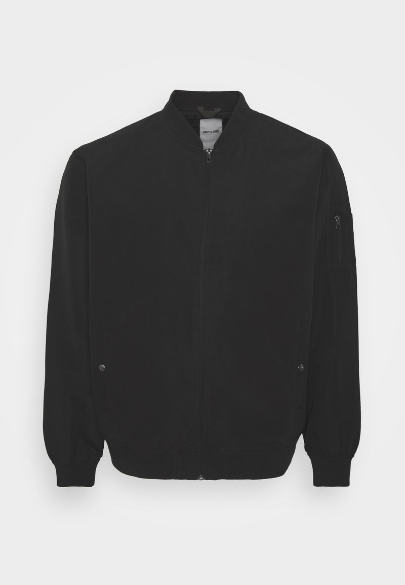 Only & Sons - ONSJACK  - Giubbotto Bomber - black