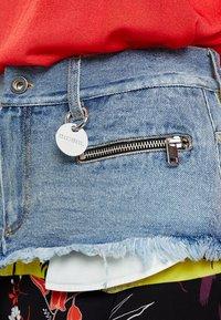 Diesel - O-BRIELLA SKIRT - Mini skirt - indigo/schwarz - 5