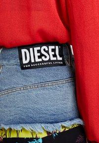 Diesel - O-BRIELLA SKIRT - Mini skirt - indigo/schwarz - 3