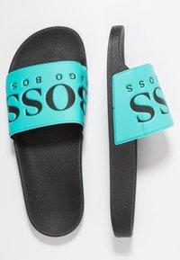 BOSS - SOLAR SLID LOGO - Mules - turquoise/aqua - 1