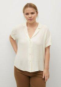 Violeta by Mango - Button-down blouse - blanc - 0