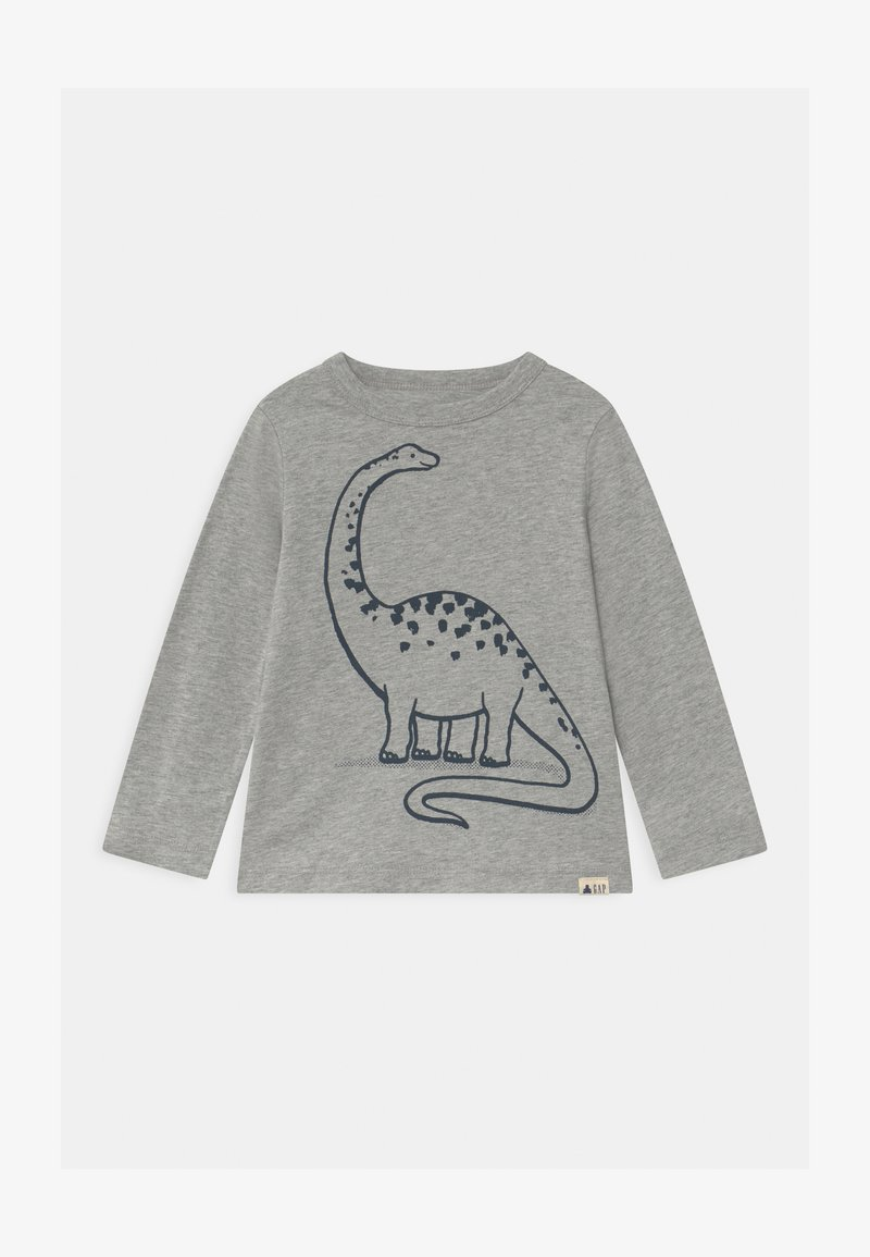 GAP - TODDLER BOY GRAPHIC - Long sleeved top - light heather grey