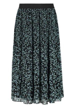 A-line skirt - 527 manja print black