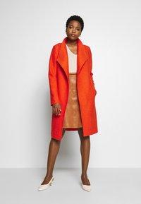 s.Oliver - Zimní kabát - spicy oran - 1