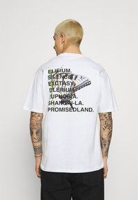 9N1M SENSE - ELISIUM UNISEX - Print T-shirt - white - 0