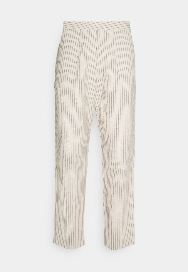 DAWN CROPPED TROUSERS - Broek - off white