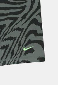 Nike Performance - Leggings - smoke grey/black/coconut milk - 2
