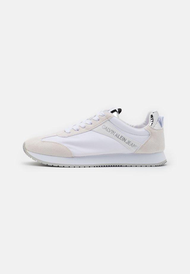 JILL - Sneakers laag - white/silver