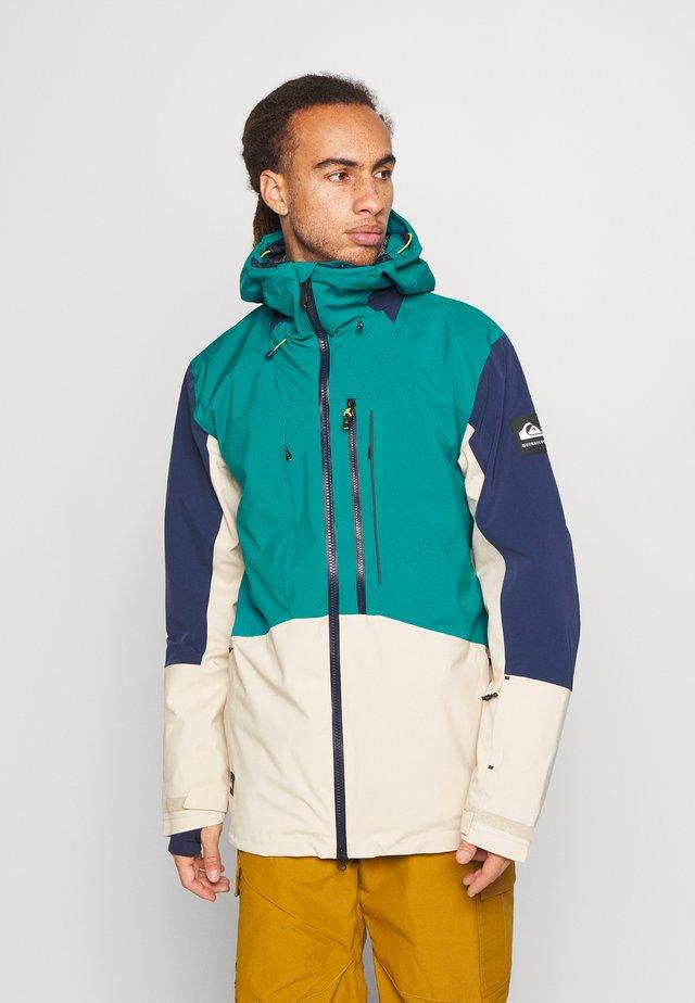 STRETCH - Snowboardová bunda - everglade