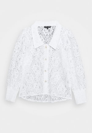 CLOTTED CREAM  - Button-down blouse - ivory