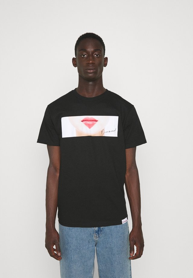 LIPS TEE - Print T-shirt - black