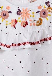 Next - EMBROIDERED - Print T-shirt - white - 2