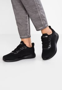 Skechers Sport - BOBS SQUAD - Zapatillas - black - 0