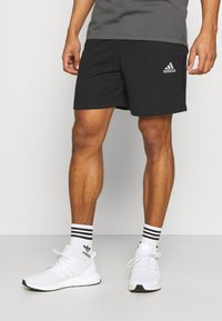 adidas Performance - Korte sportsbukser - black/white - 0