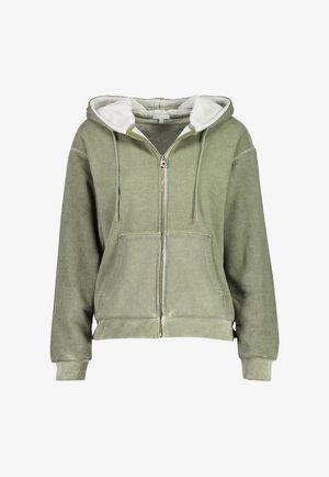 Fleece jacket - vinegard green