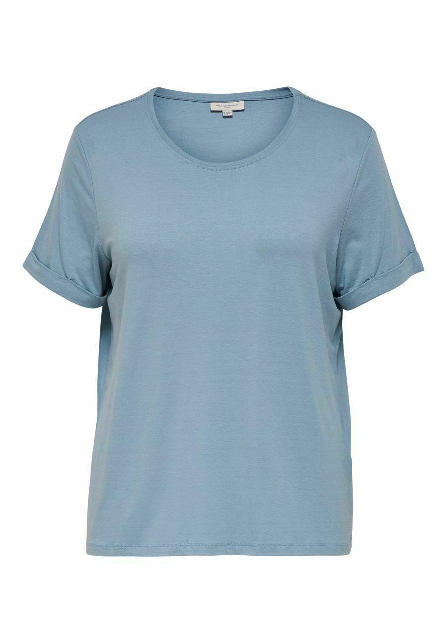 Damen EINFARBIGES CURVY - T-Shirt basic