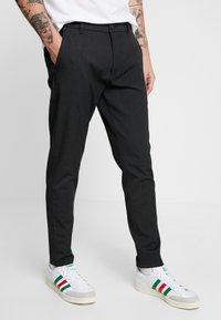 Minimum - UGGE - Trousers - dark grey - 0