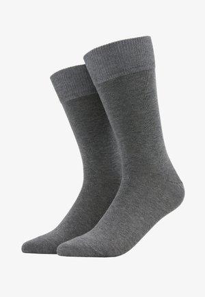 Happy 2-Pack Socks - Socks - mottled grey