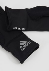 adidas Performance - CLIMA TRAINING AEROREADY SPORT GLOVES - Guantes - black/reflektve silver/white - 5