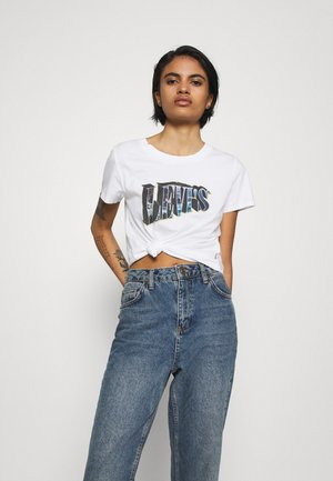 GRAPHIC SURF TEE - T-shirts med print - white
