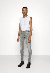 Replay - NEW LUZ HYPERFLEX BIO - Jeans Skinny Fit - medium grey - 1
