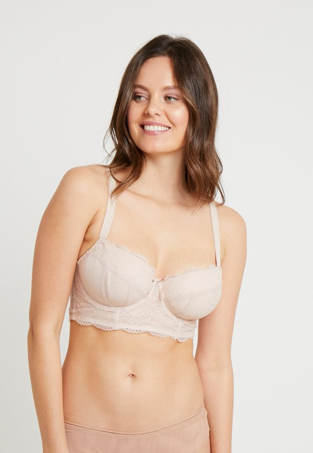 FANCIES LONGLINE - Underwired bra - natural beige