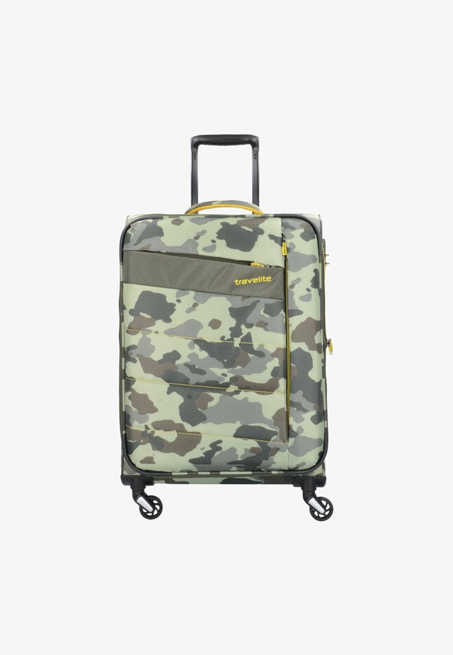 KITE M - Wheeled suitcase - camouflage
