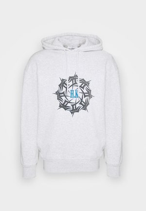 ARTWORK HOODIE - Sweatshirt - grey melange