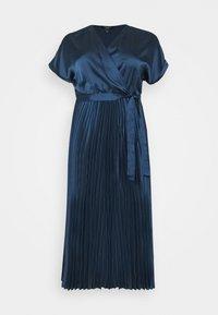 New Look Curves - GO PLEATED - Vestito elegante - navy - 4
