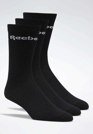 2019-11-01 ACTIVE CORE CREW SOCKS 3 PAIRS - Sukat - black