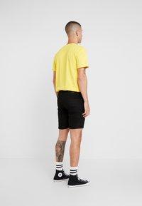 Denim Project - MR. ORANGE - Denim shorts - black - 2