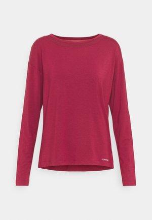 PERFECTLY FIT FLEX WIDE NECK - Pyjama top - deep sea rose