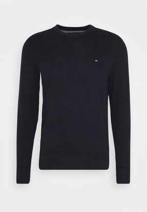 PIMA CREW NECK - Jumper - blue