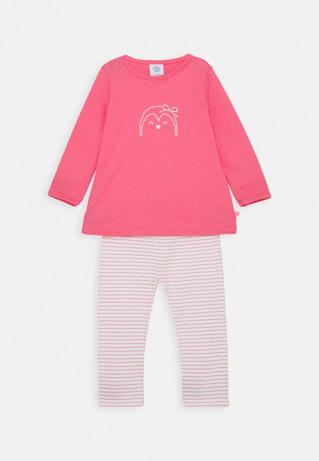LONG MOTIV BABY SET - Pyjamas - camellia rose