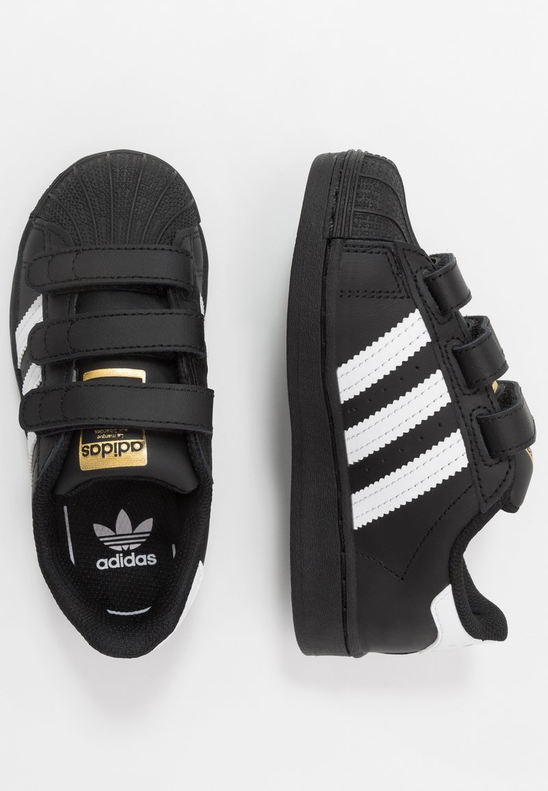 adidas Originals - SUPERSTAR - Tenisky - core black/footwear white