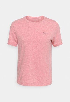 KURZARM - T-shirt basic - red melange