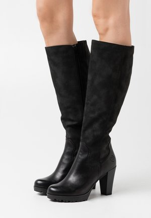 ELENOR - High heeled boots - black