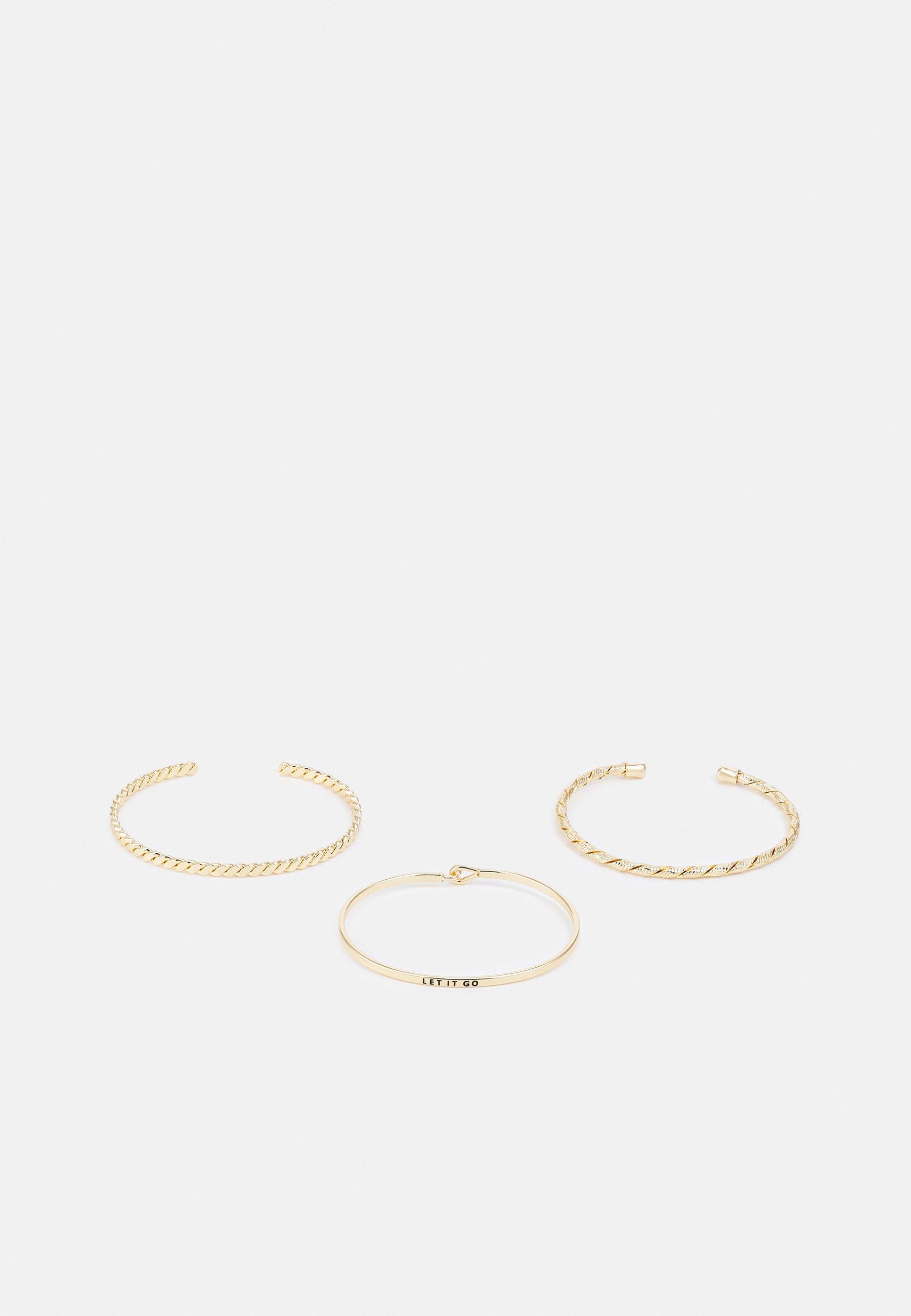 Femme PCFIFFA CUFF BRACELET 3PACK - Bracelet