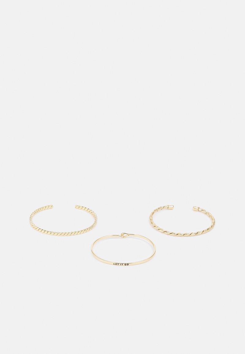 Pieces - PCFIFFA CUFF BRACELET 3PACK - Bracelet - gold-coloured