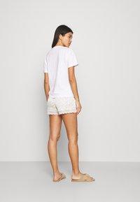 Etam - NEMY SHORT - Bas de pyjama - ecru - 2