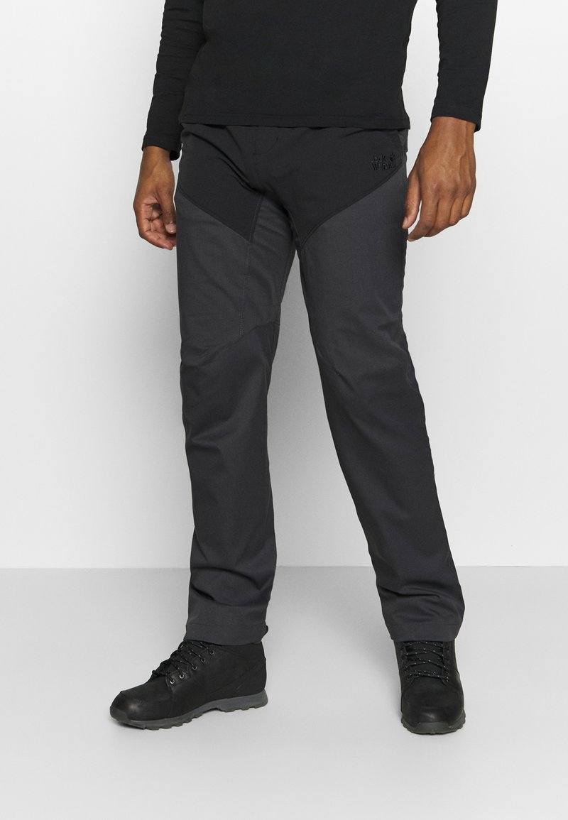 Jack Wolfskin - DOVER ROAD PANTS - Outdoor trousers - phantom