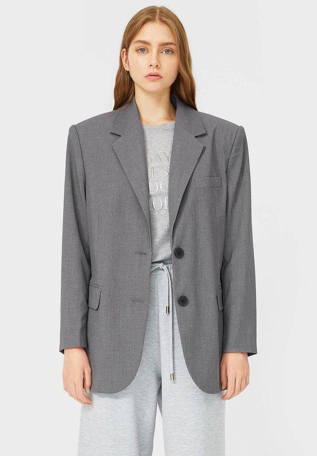 OVERSIZE - Blazer - dark grey