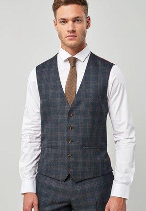 Suit waistcoat - dark blue/bordeaux