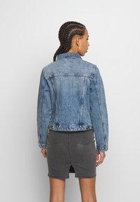 Pieces - PCLOU JACKET - Denim jacket - light blue denim - 2