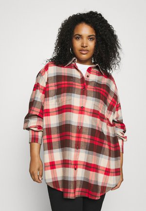 REMI UTILITY - Button-down blouse - rosie/chicory coffee