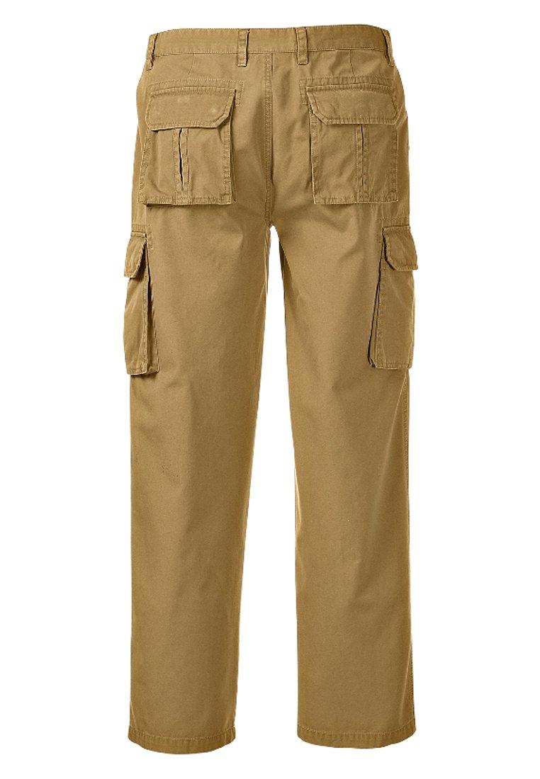Jan Vanderstorm STEEN - Pantalon cargo - beige