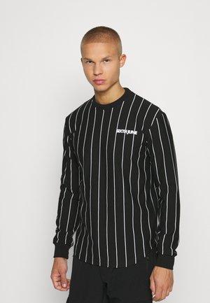 STRIPES - Sweatshirt - black