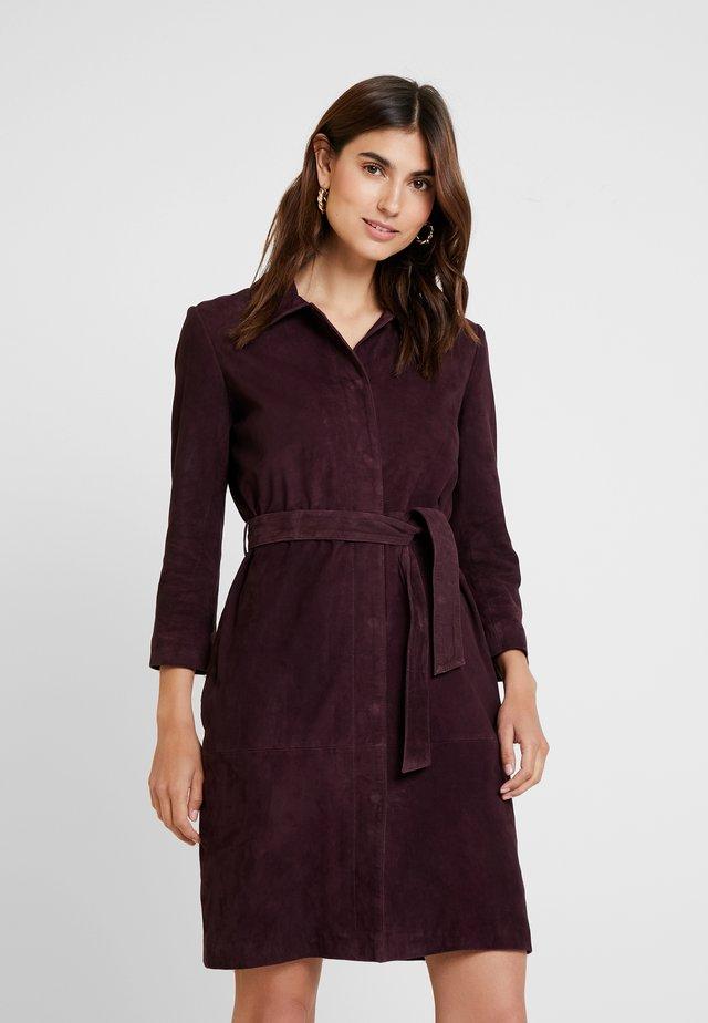 LACEY - Shirt dress - purple